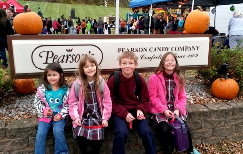 Trick-or-Treating Grocery Stores and Pearson Candy Cmpany