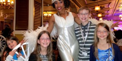 Enjoy: A Mardi Gras meal at Tiana's Place on the Disney Wonder